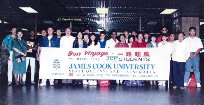 James Cook University, March 1990 Intake