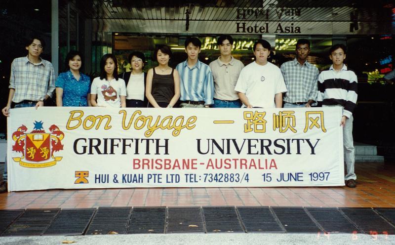 Griffith University - July 1996 Intake