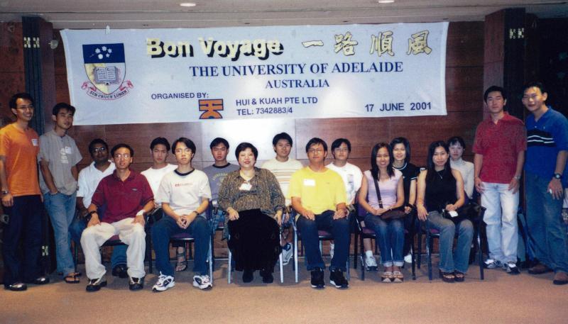 U Adelaide Pre-Departure Briefing 2001